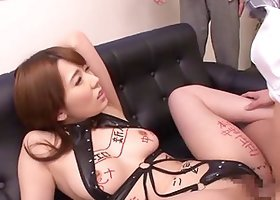 Three rock-solid dicks should be quite enough for Yui Hatano