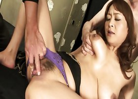 Hikaru Wakabayashi gets her wet and whorish pussy finger fucked and toyed