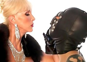Rough Mistress Humiliates Slaves In BDSM