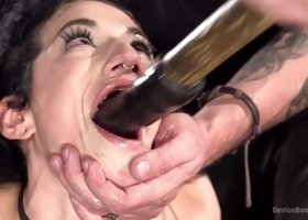 Gorgeous Arabelle Raphael acting in amazing BDSM porn