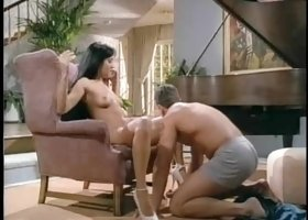 Racquel Darrian rides a man's dick during an amazing sexual experience