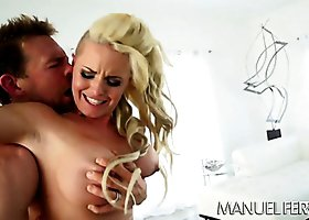 Hot as fire blonde hoe Christy Mack banged byErik Everhard