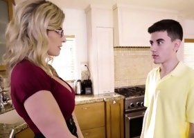 Cory Chase In Fucking Her Sons Friend