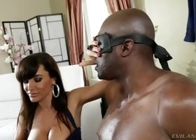 Huge tits sex video featuring Lisa Ann and Jayden James