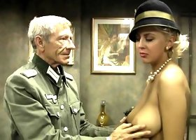 Old Army Man Fucking junior Blonde