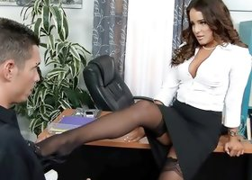 Mila Marx & Tyler Steel in Naughty Office