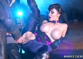 Cosplay sex video featuring Danny D and Aletta Ocean