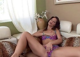 Syren De Mer gets to play her wild pussy and anal fucked