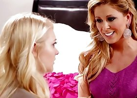 Step mom Cherie Deville and Allie Rae